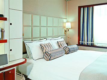 Spacious Staterooms and Suites