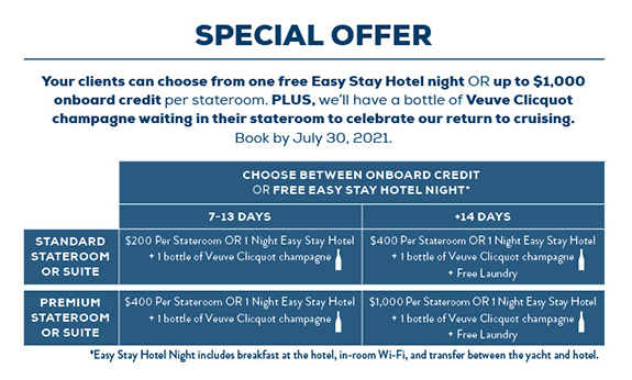 Come Sail Away Offer Box