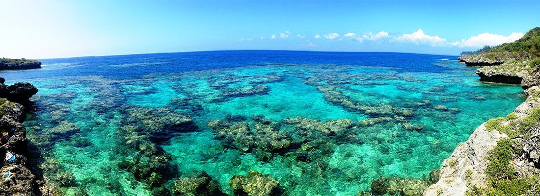 A motu in the waters of Tahiti